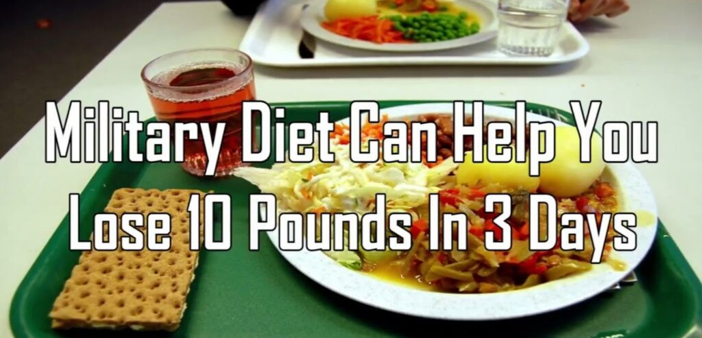 3-Day Military Diet - Lose Weight As Fast As Possible
