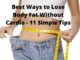 Best Ways to Lose Body Fat Without Cardio Featured Image