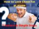 How to Lose Chest Fat at Home - 7 Fastest & Simple Steps