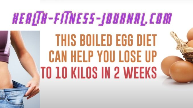 The Boiled Eggs Diet Featured Image