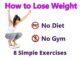 How to Lose Weight Without Diets