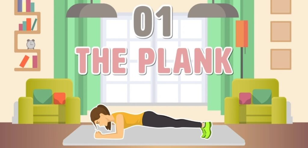 5 Simple Exercises to Transform Your Body - The Plank