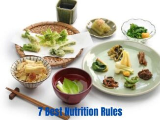 7 Best Nutrition Rules