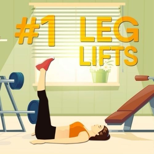 How to Be Energized All Day - Leg Lifts