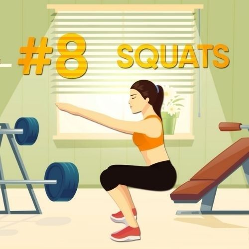 How to Be Energized All Day - Squats