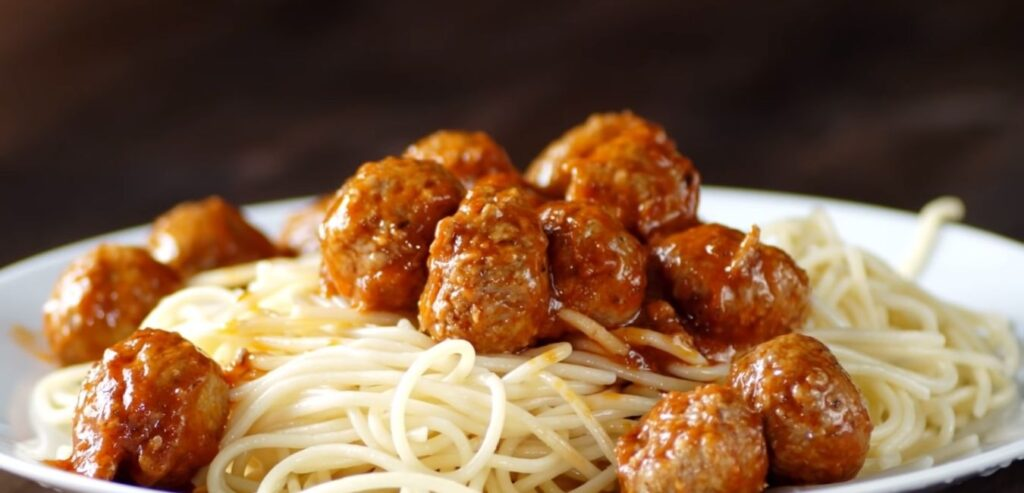 Spaghetti and Meatballs - 13 Best Diabetic Friendly Foods