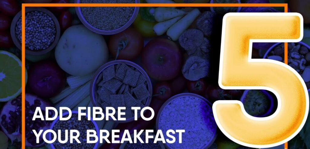 Add Fibre to Your Breakfast