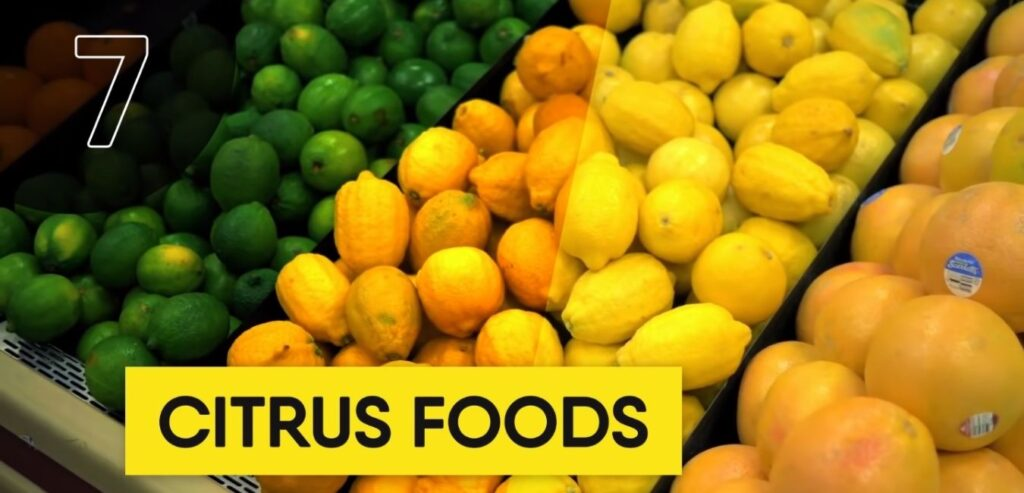 Citrus Foods - Top 5 High Thermic Foods