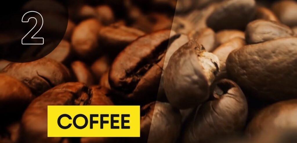 Coffee - Top 5 High Thermic Foods