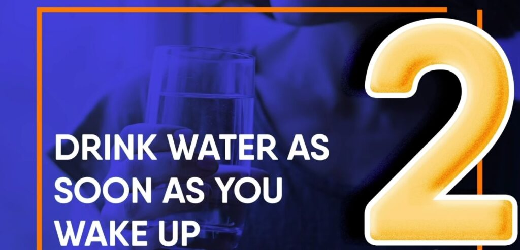 Drink Water As Soon As You Wake Up - How to Burn Belly Fat