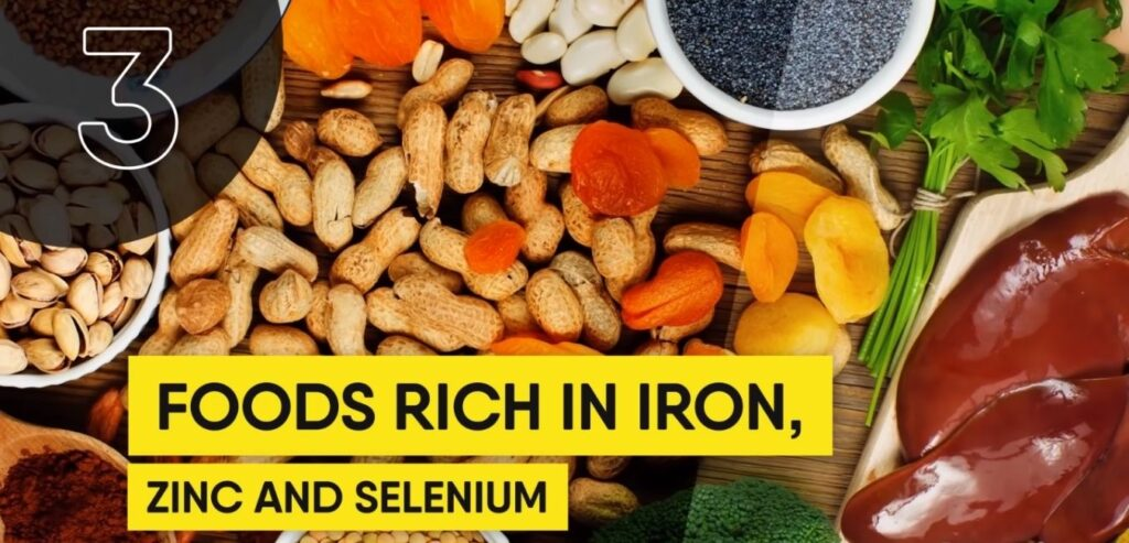 Foods Rich in Iron, Zinc, and Selenium