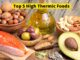 Top 5 High Thermic Foods