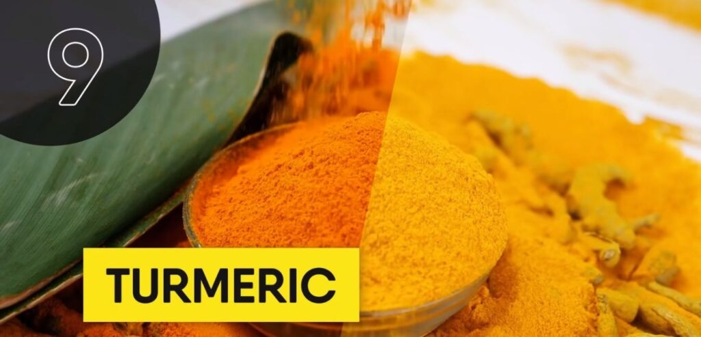 Turmeric - Top 5 High Thermic Foods