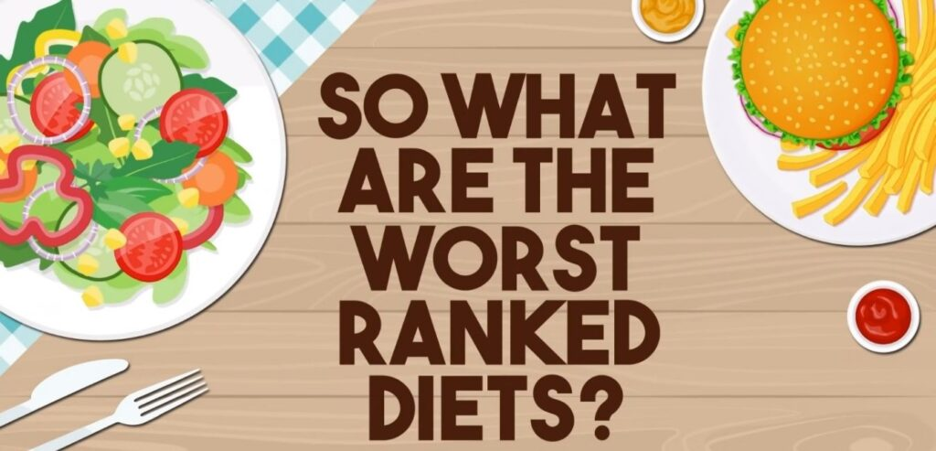 So What Are The Worst Ranked Diets