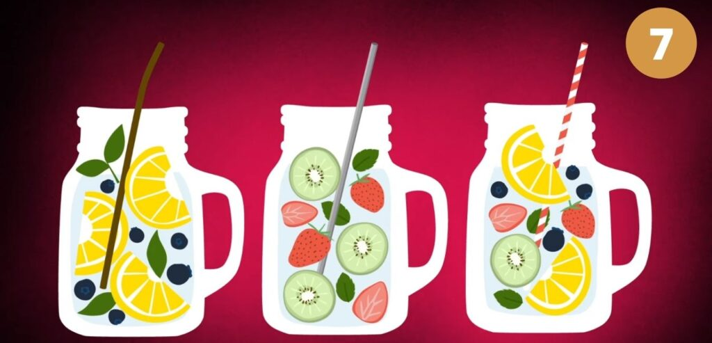 Fruit-Infused Water - How to Relieve Your Migraine