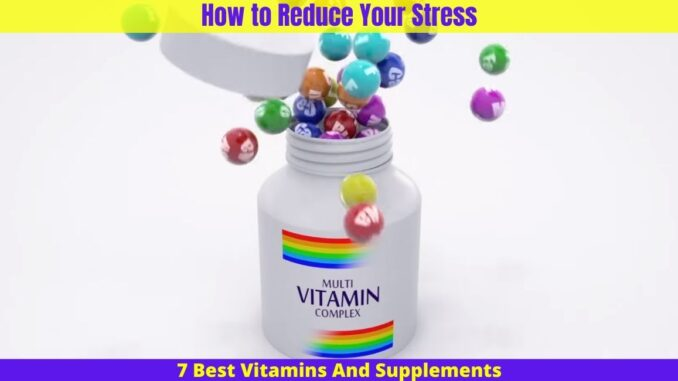 How to Reduce Your Stress